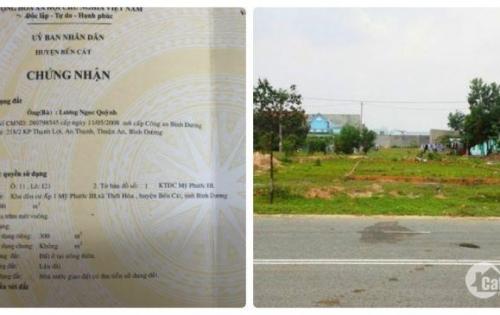 CĐT BECAMEX mở bán đợt2 đất nền đô thị Mỹ Phước 3. Đất giá gốc, SHR,