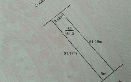 Đất mặt tiền đường Quốc Lộ N2 xã Thạnh Lợi, Bến Lức, Long An