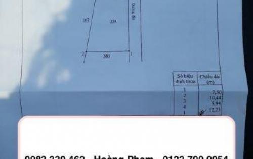 Cần bán lô đất 72m2 tại P. Tân Vạn giá chỉ 1.07 Tỷ | Hoàng Phạm – 0983 330 462
