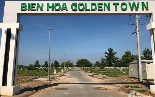 Bán đất dự án Biên Hòa Golden Town thích hợp đầu tư hoặc xây nhà ở