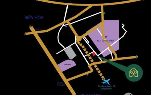 Biên Hòa Golden Town - Bán 5 lô mặt tiền gần công viên còn lại cuối cùng