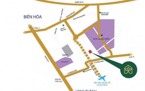 Mở bán Biên Hòa Golden Town khu đô thị thương mại trung tâm 7 khu công nghiệp