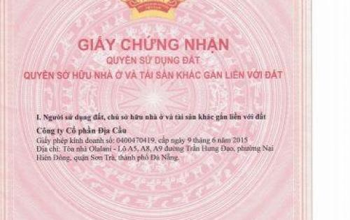 Chính chủ Nam Hòa Xuân cần tiền bán nhanh B2.18 giá tốt đầu tư