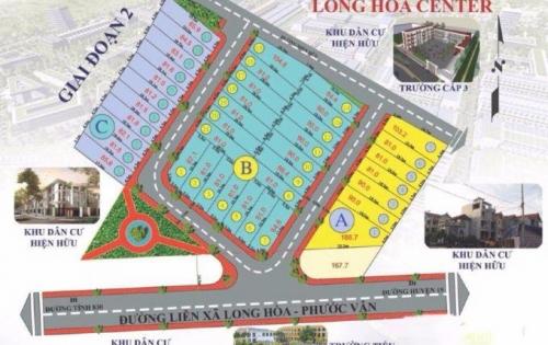 Siêu Dự Án Đất Nền Long Hòa Center Giá Rẻ Khả Năng Sinh Lời Cao 600tr/nền 100m2