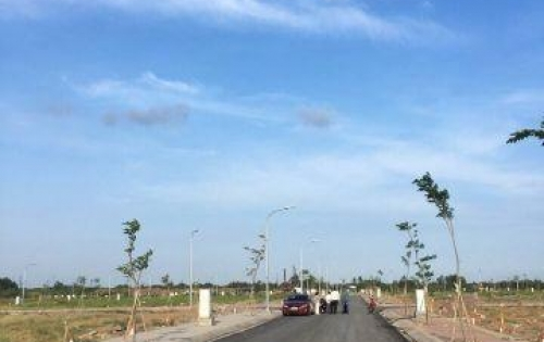 Bán đất nền khu KDC T&T Long Hậu, đã có sổ hồng.