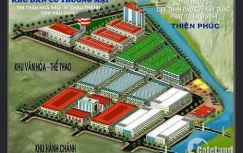 Lô Đất Nền - Nhà Phố Trung Tâm Thương Mại (6tr/m2)