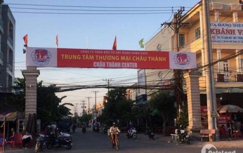 Đất nền chợ huyện châu thành (Châu Thành Center)