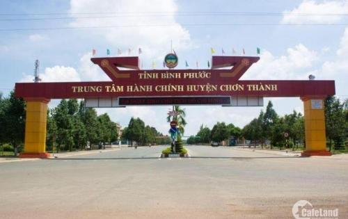 Bán đất trung tâm Hành chính Chơn Thành mặt tiền QL13