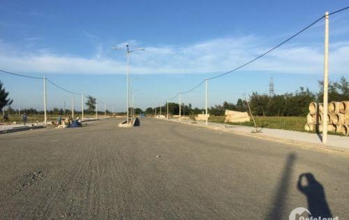 Bán gấp lô đất trục đường 33m, giá bằng đường 10m5, nằm kề khu công nghiệp Điện Nam Điện Ngọc