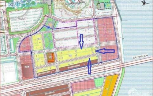 Cần bán 3 lô có vị trí đẹp thuộc Dự án Halla Jade Residence liền kề siêu thị Lotte mart Đà Nẵng, gần khu vui chơi Asia park Đà Nẵng, Helio central