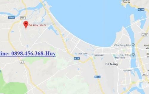 Cần tiền bán gấp lô đất giá rẻ tại Hòa vang, khu tái định cư Hòa Liên 5