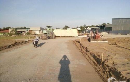 Đất nền mặt tiền đường lớn, gần chợ bình chánh