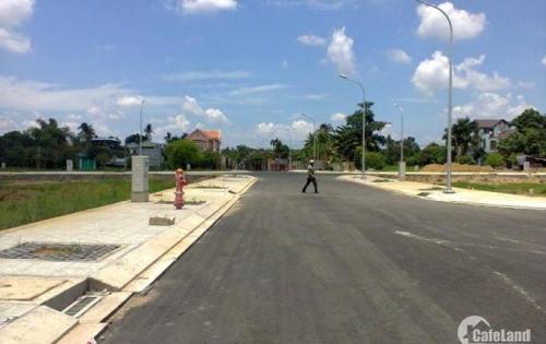 Cần bán gấp lô đất ngay mặt tiền đường QL22, diện tích 5x20 (100m2), shr, bao sang tên công chứng