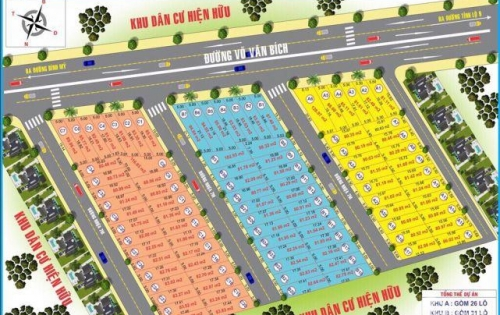 Dự án Green City 1 đất thổ cư mặt tiền Võ Văn Bích