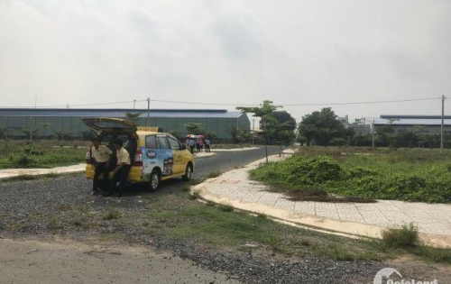 Bán đất 2 mặt tiền 10x20m đường Nguyễn Thị Lắng xã Tân An Hội, Củ Chi