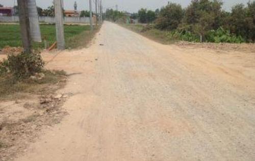 Đất nền dự án KDC Tân Thạnh Đông-Củ Chi-TP.HCM.Xây dựng tự do.SHR từng nền