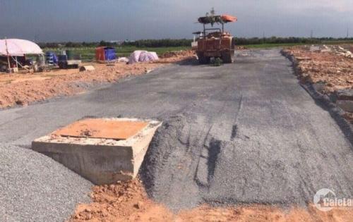 Đất nền dự án KDC Tân Thạnh Đông-Củ Chi-TP.HCM.Xây dựng tự do cơ sở hạ tầng hoàn thiện.SHR từng nền