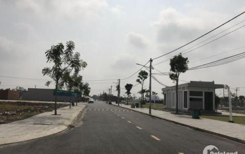 Ngân hàng thanh lý đất nền  Tân An Hội, trung tâm huyện Củ Chi thổ cư 100%, sổ hồng riêng.
