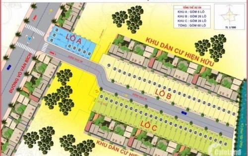 Mở bán 60 nền cực đẹp mặt tiền đường Võ Văn Bích Củ Chi. Giá gốc chủ đầu tư chỉ 14 triệu/m2