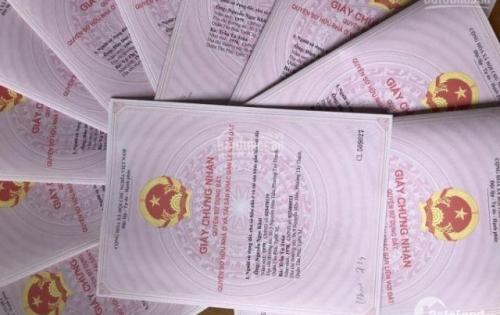 Chính chủ cần bán các lô đất nền diện tích 10x45m sổ hồng riêng 1 sẹc đường Sông Lu 2, xã Hòa Phú