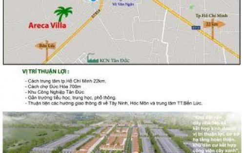 Bán đất Khu Đô Thị Tân Đức, giá rẽ nhất thị trường, lô góc đường 16M, sổ đỏ, thổ cư 100%