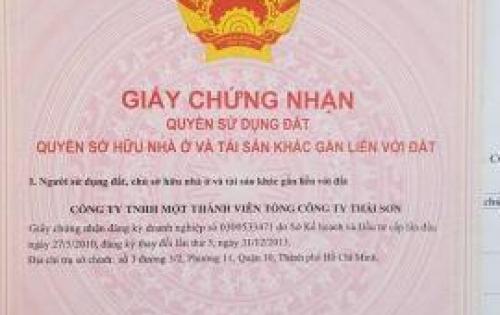 Cặt tiền cần bán gấp lô đất KDC Thái Sơn 1, Nhà Bè, giá 23tr/m2. Lh: 0934119697