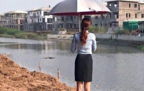 Chính chủ bán đất khu A dự án Green Riversider Tuấn Long, Nhà Bè lô N1, giá 26.5 triệu/m2