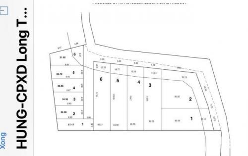 ĐẤT BÁN_KDC LONG THỚI,Nhà Bè. S = 1000m² _13tr/m² tách được 6 sổ riêng 13 tỷ