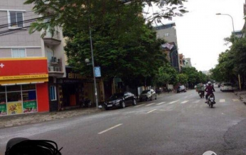 Bán đất kinh doanh mặt phố Trạm, Long Biên, Hà Nội