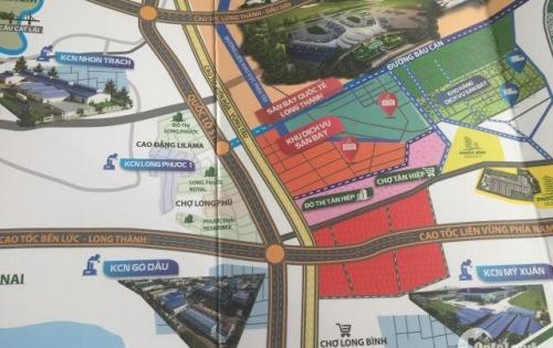 Lô đất gần sân bay Quốc Tế Long Thành đầy tiềm năng, khả năng sinh lời cao, ngại gì không đầu tư