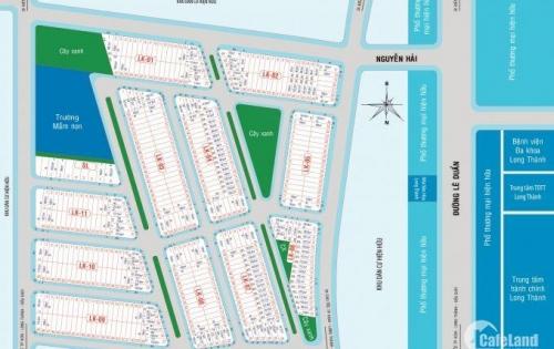 Bán đất trung tâm thị trấn Long Thành, Đồng Nai khu dân cư cao cấp Eco Town – 0969374768