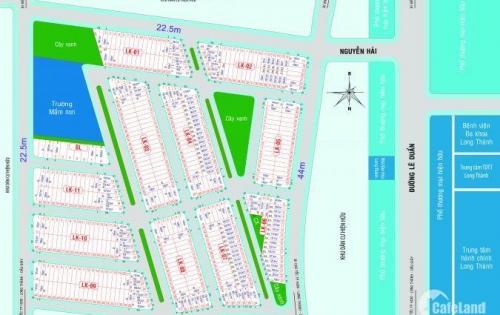 Dự án Eco Town- KĐT mới Long Thành – 600tr/m2 ngân hàng hỗ trợ 50% - PKD 0906 811 334