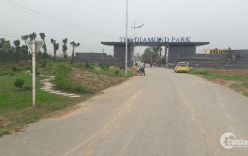 The Diamond Park, đất nền dự án biệt thự, liền kề, đã có sổ giá chỉ từ 12tr/m2.