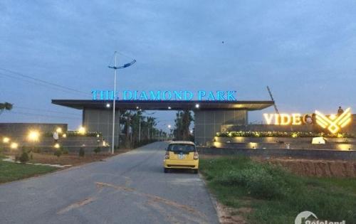 Siêu dự án The Diamond Park New Mê Linh - Hà Nội, đất nền dự án giá chỉ có 12tr/m, ngay cạnh Mê Linh Plaza.