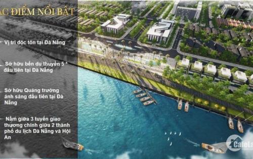 Nhận đặt chỗ có Vị Trí cho dự án đất nền Biệt Thự ONE RIVER thuộc Đà Nẵng PEARL giá 100tr/sản phẩm