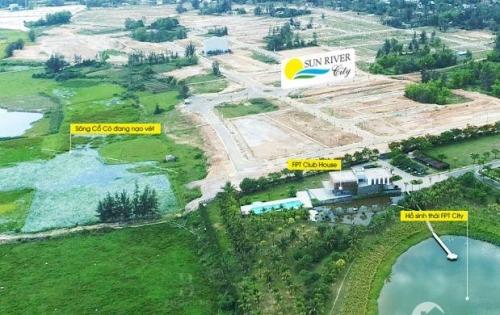 Bán lô biệt thự đường 22m5 khu nghỉ dưỡng ven sông Cổ Cò