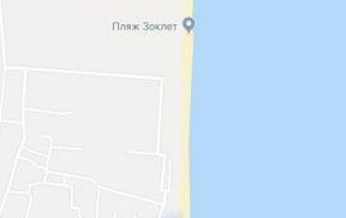 Cần bán lô đất 167m, thổ cư, trước mặt biển, ngay bên cạnh khu du lịch Dốc Lết, White Sand, thị xã Ninh Hòa.