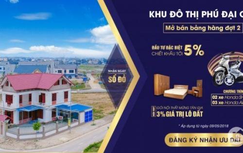 Mở bán dự án Phú Đại Cát với nhiều ưu đãi lớn cho khách hàng