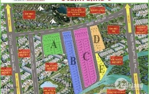 Cần bán gấp 5 lô đất mặt tiền đường Búng Gội giá đầu tư