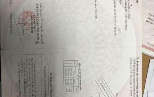 Bán Đất nền đường THẠNH LỘC 37-Q.12- Hỗ trợ vay ngân hàng lãi rẻ nhất_lh: 0945 38 39 37