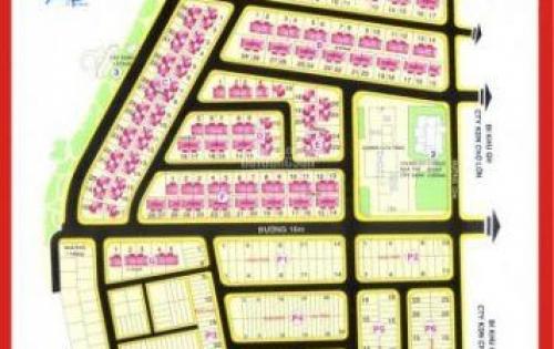Cần bán đất lô góc 2 mặt tiền khu dân cư Phú Mỹ, Phạm Hữu Lầu, Phường Phú Mỹ, Quận 7