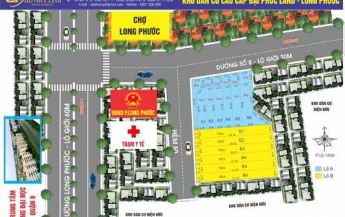 Đất chính chủ bán rẻ, SHR, MT đường noi bo 9m Long Thuận, Long Phước, Q9