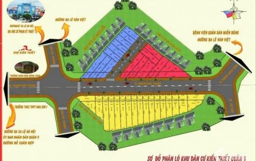 Đầu tư sinh lời cao tại khu đất Vàng Kiến Thiết ở khu Hiệp Phú, Quận 9