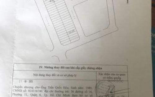 Đất Khu dân cư Nam hùng vương,Đường 2E,P. An Lạc, Bình Tân,4.5mx20m,5.4 tỷ TL