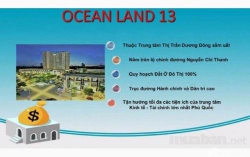 Chỉ còn 20 nền cuối cùng siêu phẩm Ocean Land 13, ngay trung tâm thị trấn Dương Đông