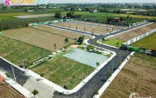 Cực Hot! Thị trường đất nền Long An sôi sục vì đất nền An Nhiên Garden.Giá chỉ 600tr/lô. Chiết khấu 5%.SHR