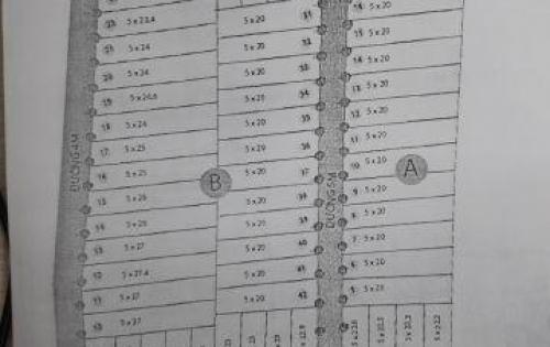 62 LÔ ĐẤT VỊ TRÍ SIÊU ĐẸP SIÊU LỢI NHUẬN HỘI BÀI RESIDENCES 6 100M2 GIÁ 380tr/NỀN LH:0911969354