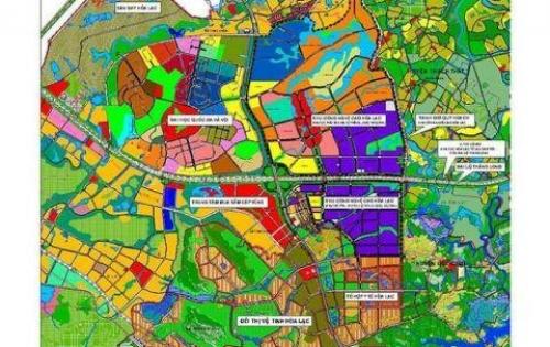 Bán đất đầu tư lô góc khu tái định cư Thạch Hòa - Thạch Thất.