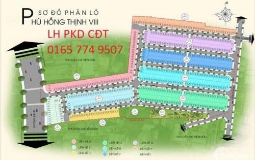 Siêu dự án Phú Hồng Thinh 8 ngay mặt tiền DT743 con 50 xuất nội bộ cuối cùng
