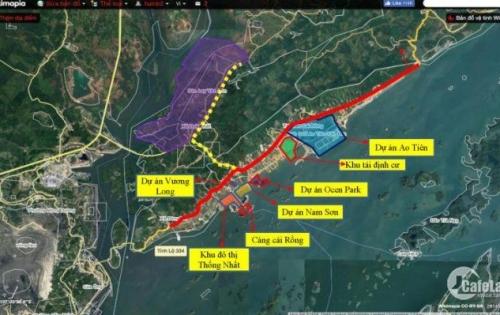 bán đất thổ cư chính chủ khu Vân Đồn